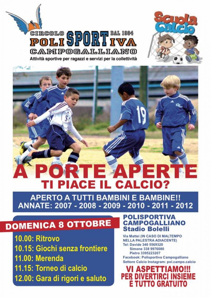 Open Day in Polisportiva